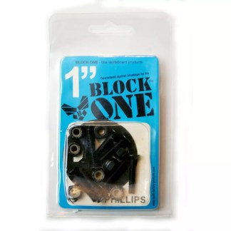 Block One Skateboard Phillips Hardware 1""