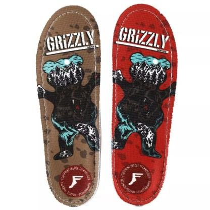Footprint x Grizzly Insoles Kingfoam Gold Orthotics