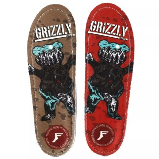 Footprint x Grizzly Insoles Kingfoam Gold Orthotics