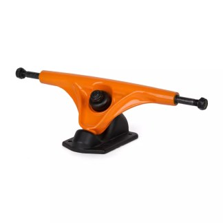 Rellik Longboard Trucks Black/Orange 180mm
