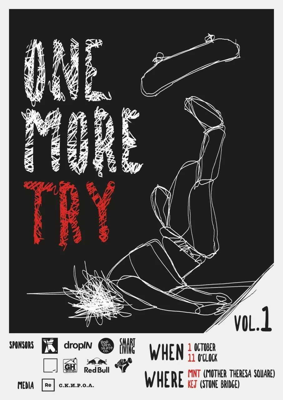 ONE MORE TRY - skateboarding mayhem