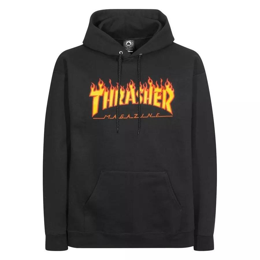 d0a48175d092 Thrasher Flame Logo Hoodie