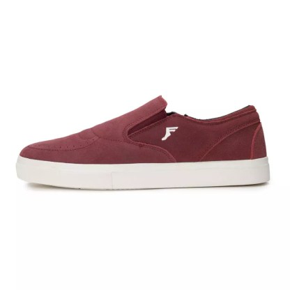 Footprint Footwear Citrus SlipOn Burgundy
