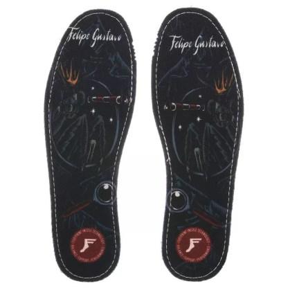 Footprint Flat Insoles Gustavo Illuminist 5mm