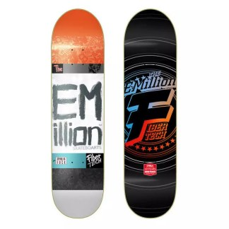"EMillion ""Strong As Fuck"" 8.125"" Fibertech Skateboard Deck"