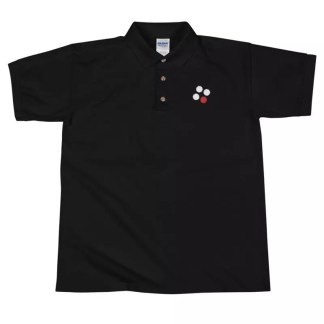 Popcorn ID Logo Embroidered Polo Shirt