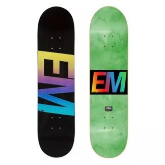 "EMillion Spectrum Black 8.0"" Skateboard Deck"
