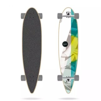 "Long island Green Tea Essential 39"" Pintail Complete Longboard"