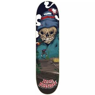 "Popcorn Ilin Kolevski Pro Model 8.0"" Skateboard Deck"
