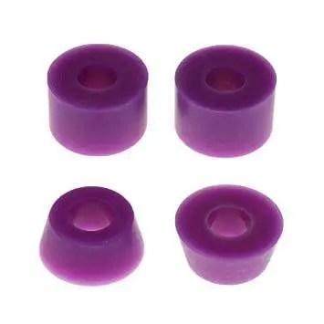 Rellik Skateboard Truck Bushings Purple 95A (Set of 4)