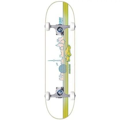 """Habitat Bobby De Keyzer T-Dot 8.5"""" Complete Skateboard"""