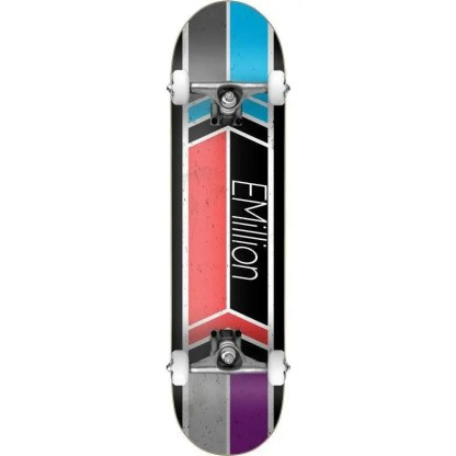 "EMillion Rally 8.0"" Complete Skateboard"