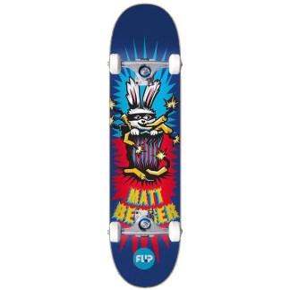 Flip Berger Tin Toys 8.25″ Complete Skateboard