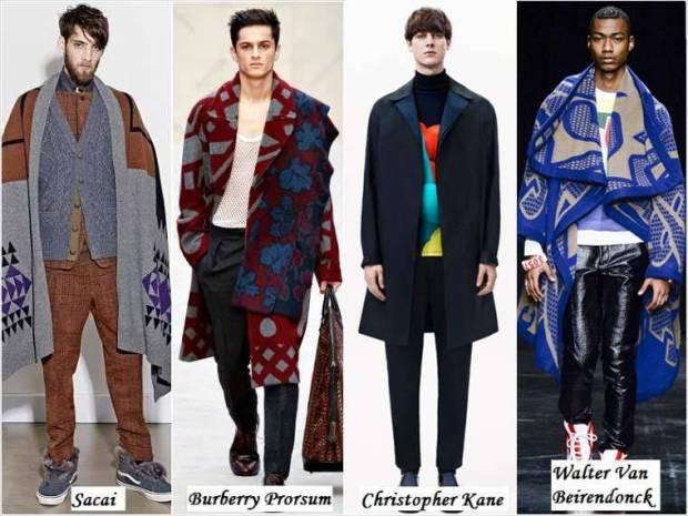 Haine stil boem la moda pentru barbati iarna 2015