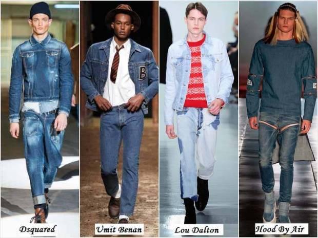 Jeans la moda 2015 barbati
