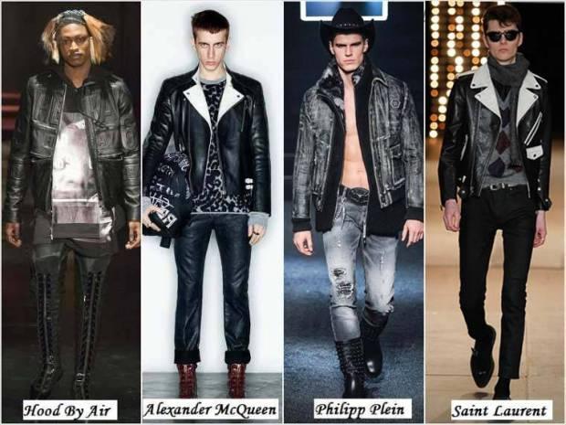 Stil vestimentar grunge barbati iarna 2015