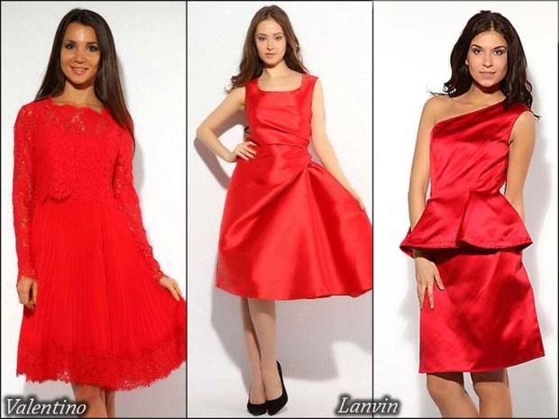 Rochii scurte rosii pentru balul de absolvire 2015