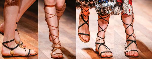 Sandale de vara gladiator 2015