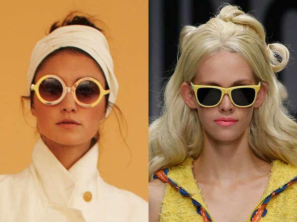 Rame galbene la moda