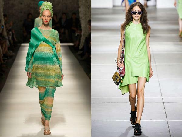 Modele de culoare verde