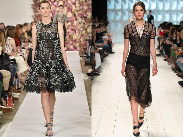Lungi transparente la moda primavara vara 2015