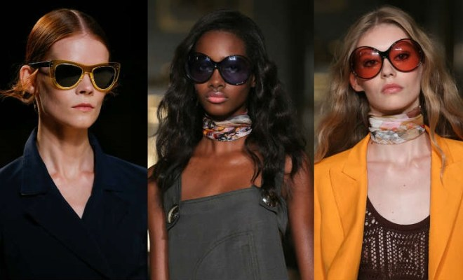 Ochelari de soare la moda primavara-vara 2015