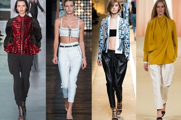 Pantaloni la moda primavara-vara 2015