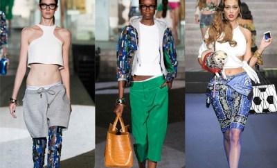 Pantaloni scurti de dama la moda primavara-vara 2015