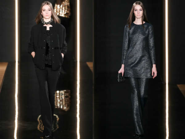 Pantaloni clasici la moda toamna 2015 iarna 2016