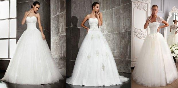 Modele pufoase rochii 2015 de mireasa
