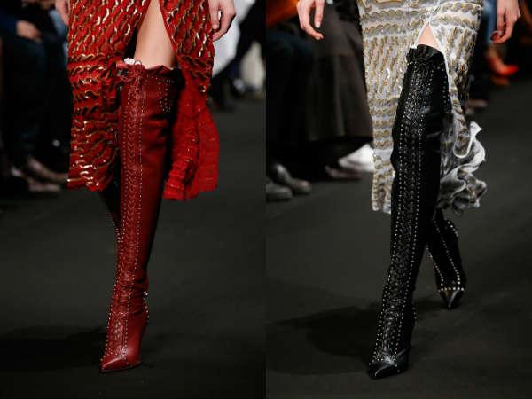 elegante inalte peste genunchi