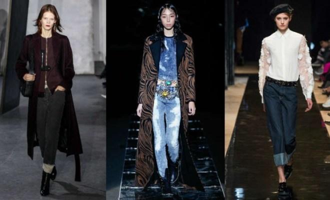 Blugi dama la moda toamna-iarna 2015-2016