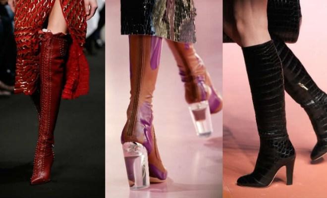 Cizme la moda toamna-iarna 2015-2016