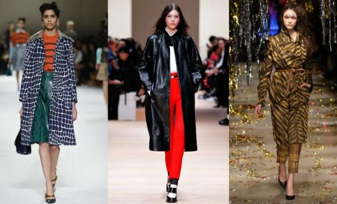 Trenciuri la moda toamna-iarna 2015-2016