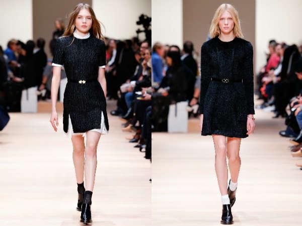 Lungimea rochiilor office toamna iarna 2015 2016