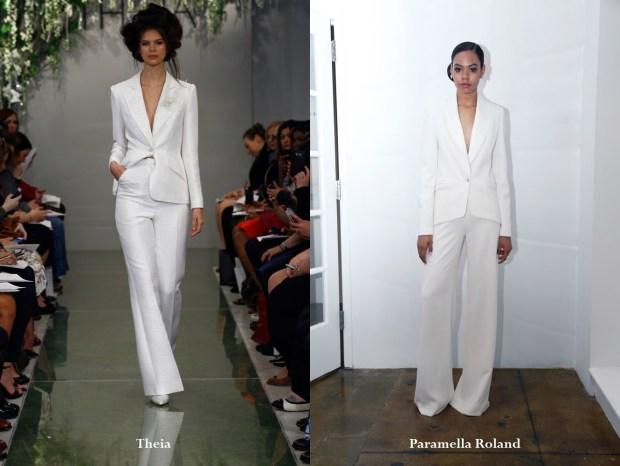Costum dama alb