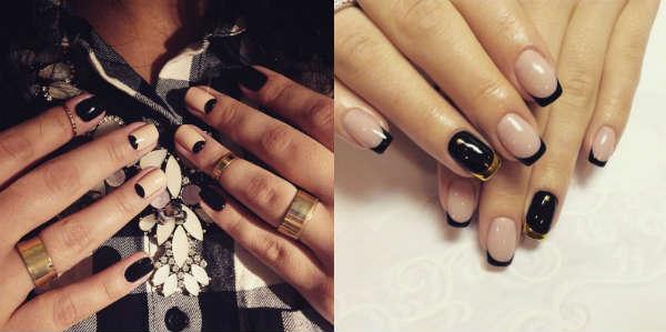 idei cu negru la moda