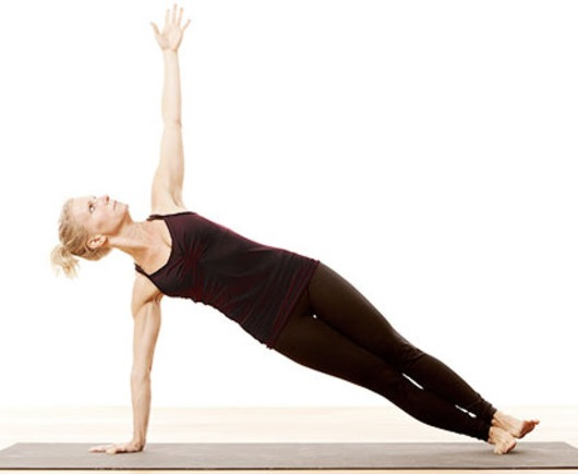 Yoga energetica pentru incepatori exercitiului Vasisthasana