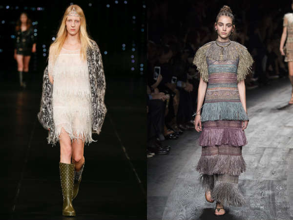 Rochii la moda primavara vara 2016: decor