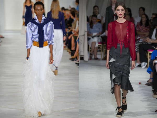 Modele fuste la moda primavara vara 2016