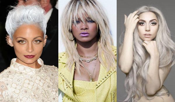 Nuante de blond gri