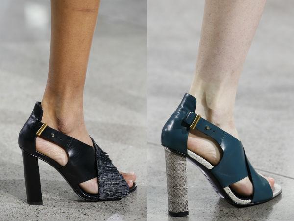 Sandale primavara vara 2016: culori