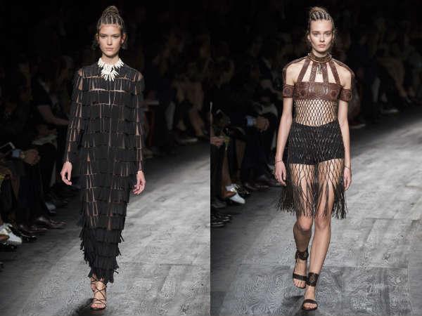 Valentino la saptamana modei de la Paris