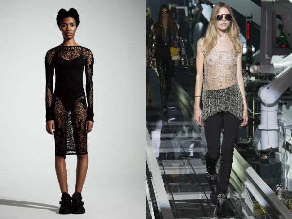 Tunici stofe transparente la moda primavara vara 2016