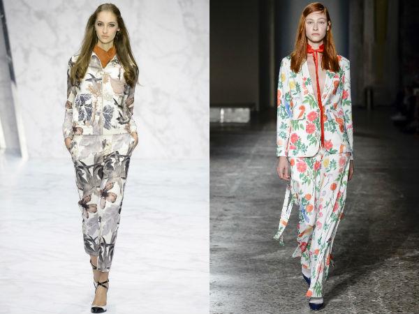 imprimeu floral la moda