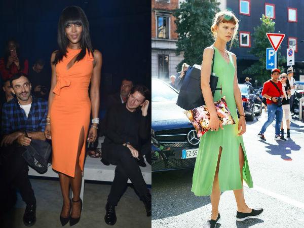Moda strazii primavara vara 2016: rochii