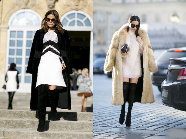 Moda strazii primavara vara 2016: cizme ciorap
