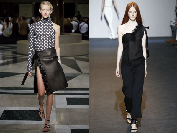 Moda 2016 tendinte primavara vara: asimetria