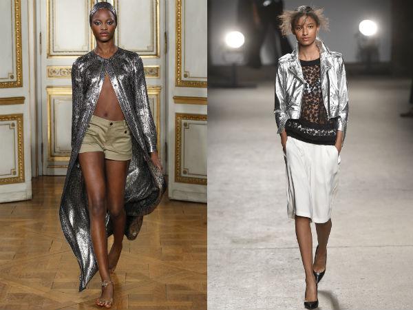 Modele haine argintii