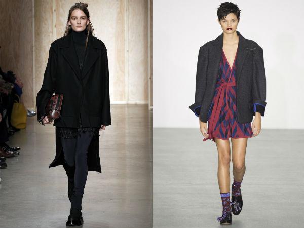 la moda stil oversize